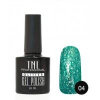 Гель-лак TNL Glitter №04