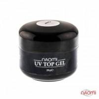 Завершающий Топ Гель Naomi - UV Top Gel (Clear) 28г