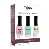 Набір Ідеальні нігті Perfect Cuticle Nail Kit Trind 27 мл (3х9 мл)