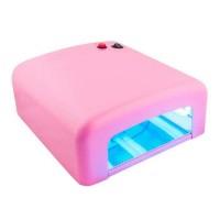 УФ лампа 36 ВТ №818 (розовая)