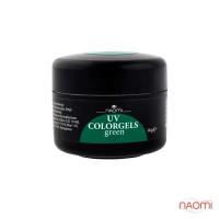 Цветной гель Naomi UV Colorgels Green, 14г
