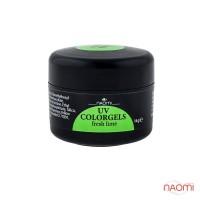 Цветной гель Naomi UV Colorgels Fresh Lime, 14г