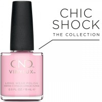 Лак CND Vinylux Candied (нежный розовый, эмаль), 15 мл